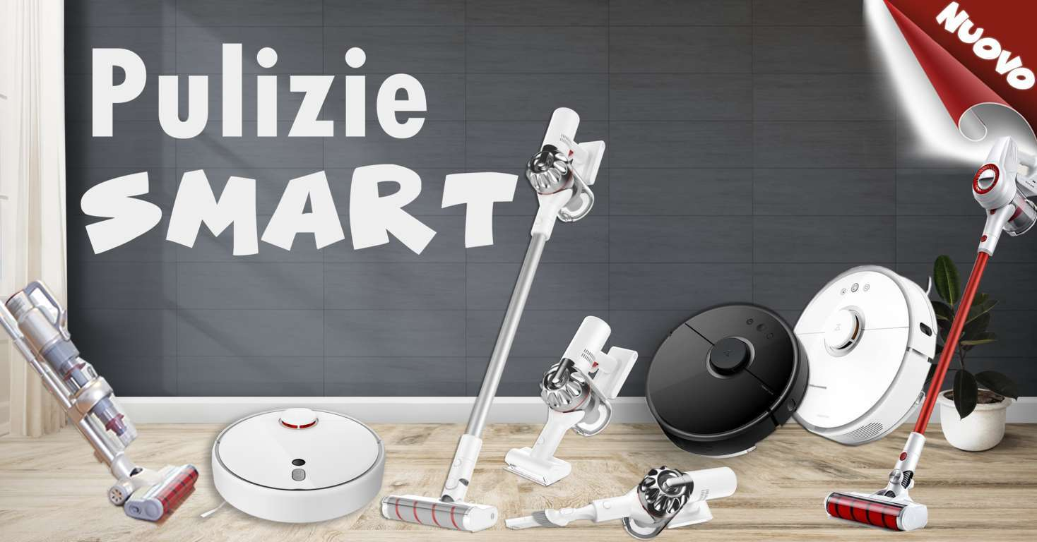 PULIZIE SMART DA GEEKMALL.IT