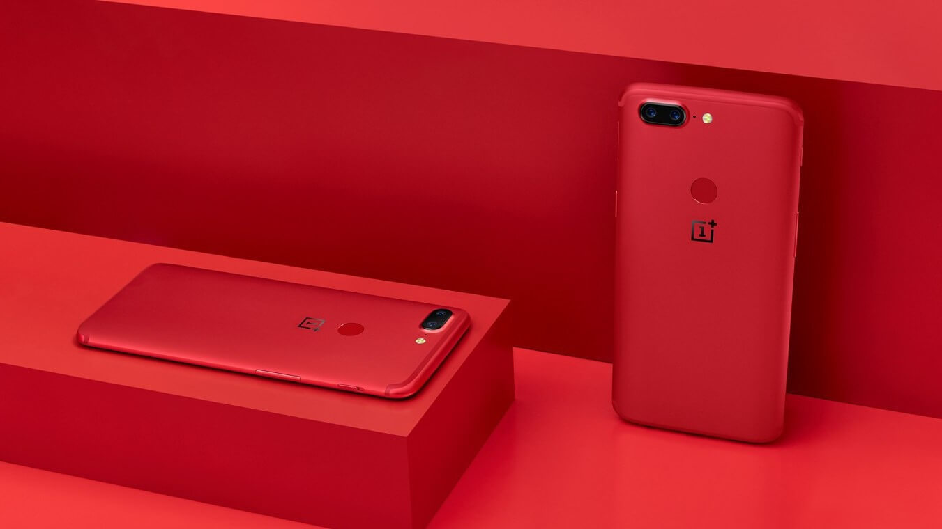 OnePlus 5T codice sconto coupon discount lava red