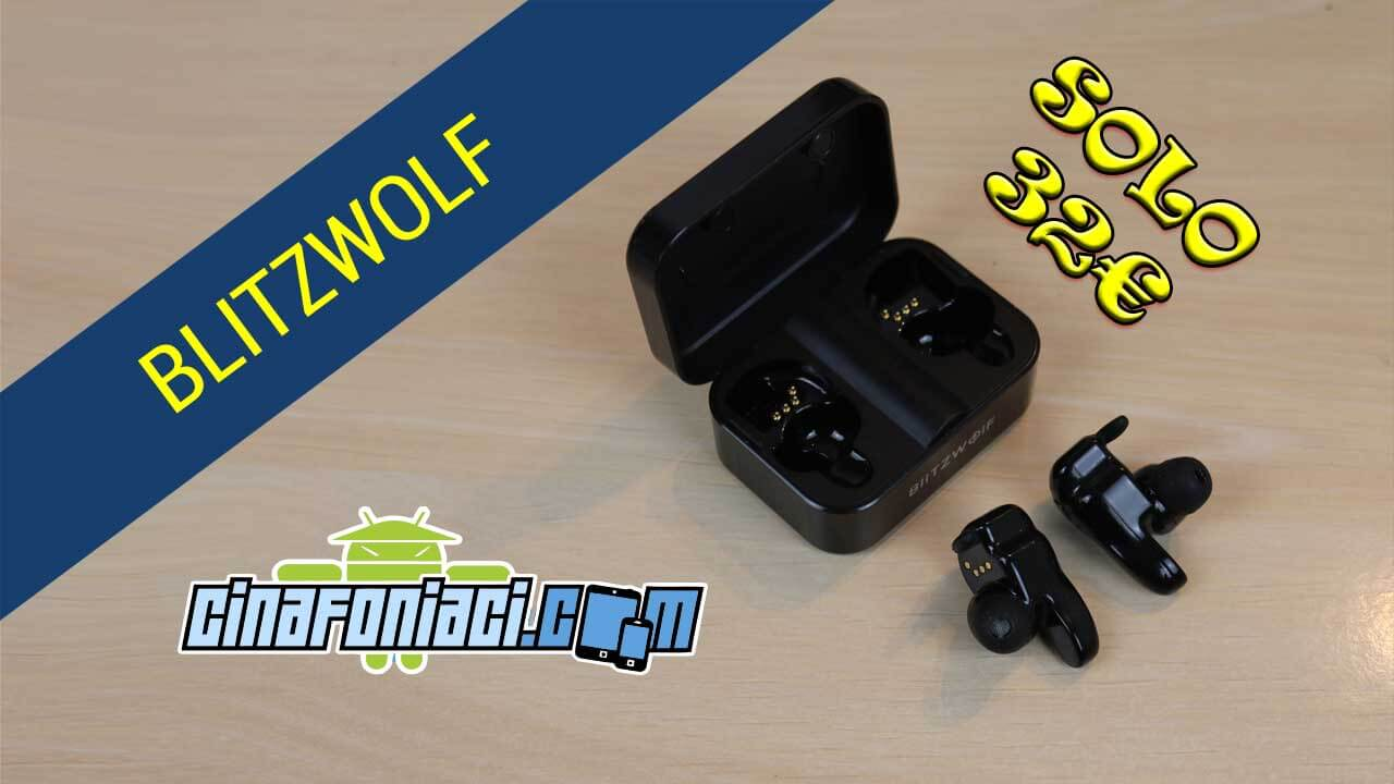 Blitzwolf BW-FYE1 auricolari bluetooth True Wireless a 32 euro su ... f04745d90aa0