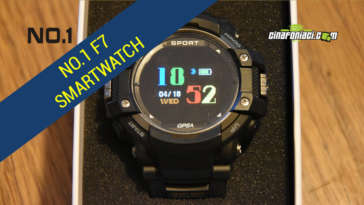 No.1 F7 - Un Mix Di Smartwatch - Recensione