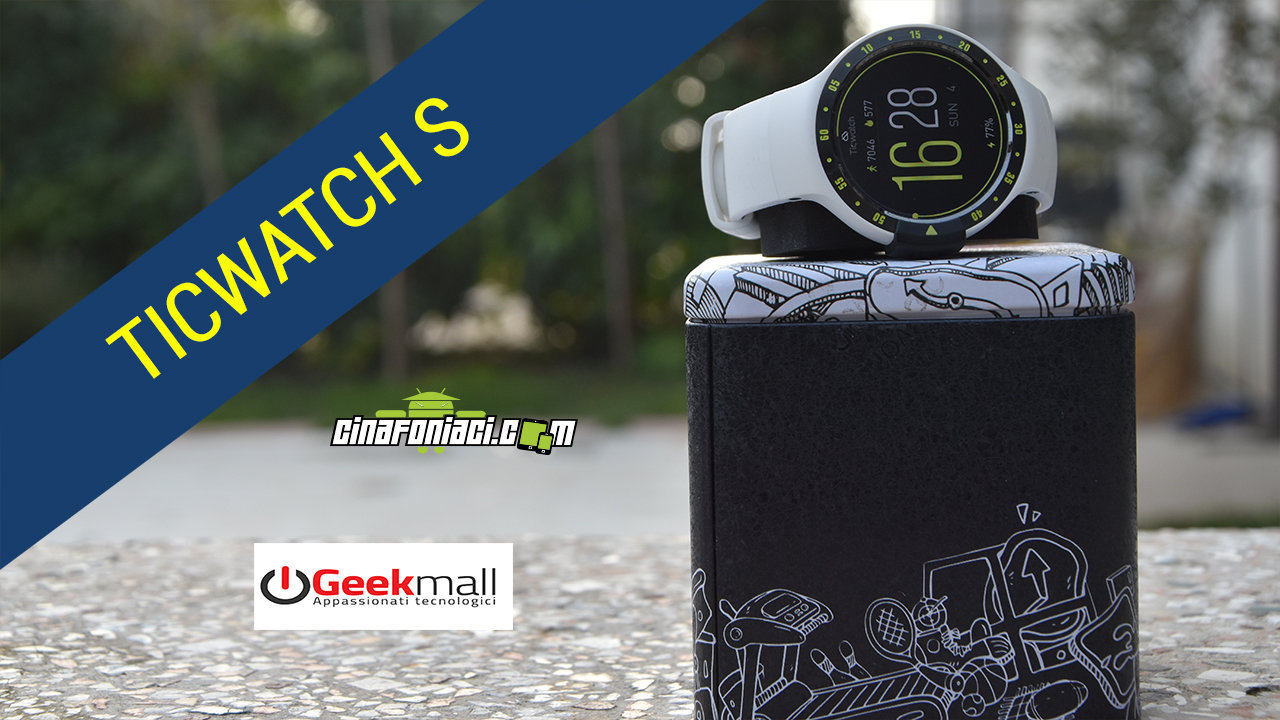 TICWATCH S - CANDIDATO BEST BUY SOTTO I 200 EURO - RECENSIONE