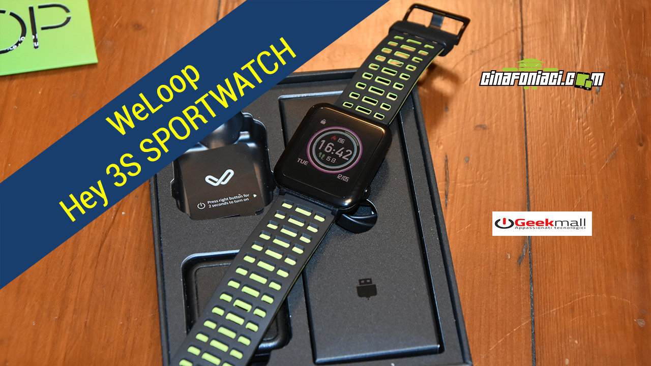 WELOOP  HEY 3S - UN'ALTERNATIVA AD AMAZFIT BIP - LA RECENSIONE