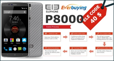 Elephone apre le prevendite per l'Elephone P8000