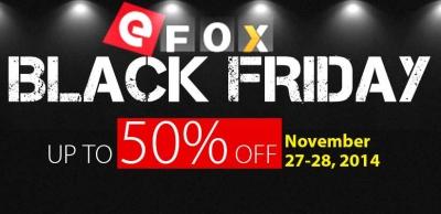 MyEfox: smartphone al 50% in occasione del black friday!