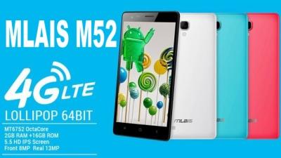 Mlais M52 - Uno smartphone octa core 64bit in prevendita su Tinydeal ad un prezzo speciale!