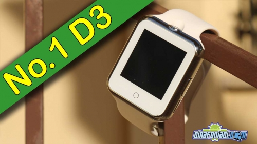 No.1 D3 Smartwatch entry level a 16 dollari