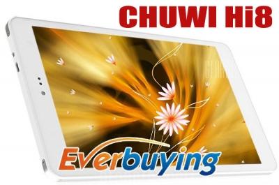Chuwi Hi8, un tablet dual boot Android e Win 8.1 molto economico: caratteristiche e confronto con il Chuwi Vi8