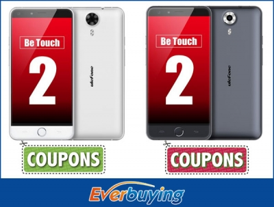 Ulefone Be Touch 2 in offerta su Everbuying con 2 possibilità di acquisto