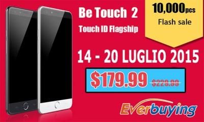 Ultimi 2 giorni per comprare l'Ulefone Be Touch 2 a prezzo ridotto!