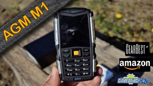 AGM M1 - Feature phone Rugged e IP68 resistente a tutto