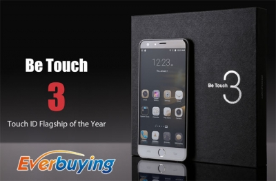 Ulefone Be Touch 3 in offerta durante la fase di prevendita su Everbuying