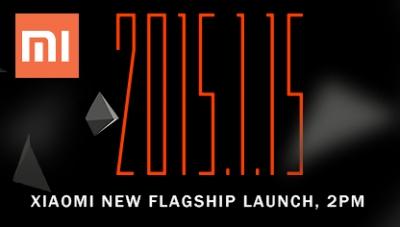 Il 15 Gennaio 2015 Xiaomi presenterà le sue novità!
