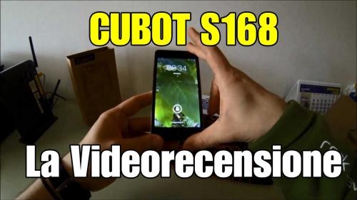 Cubot s168 : smartphone ultra low cost la recensione di sfavaretto!
