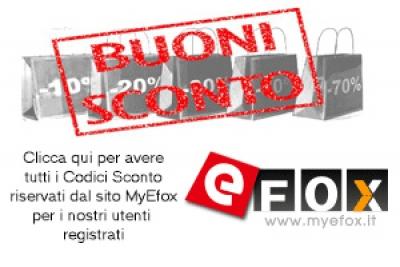 Nuovi Codici Sconto per Marzo : Myefox,  234buy e Comebuy