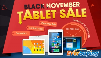 Chuwi Hi8 Pro e Cube Iwork8, 2 tablet con Windows 10 in offerta su Everbuying dal 18 novembre