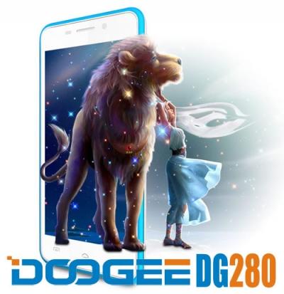 DOOGEE DG280 nuovo smartphone low cost in uscita a gennaio 2015!