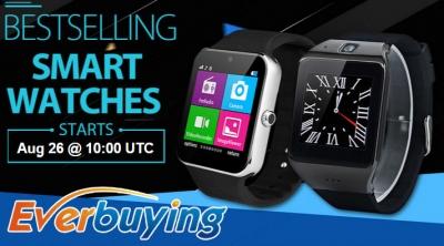 5 smartwatch in offerta su Everbuying a partire da 17 euro!
