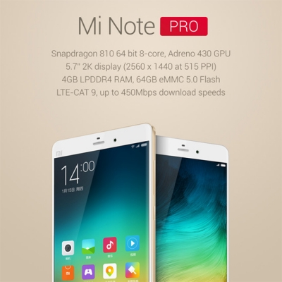 Xiaomi presenta il Mi Note, un nuovo punto di riferimento per i top di gamma!