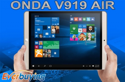 Onda V919 Air, un tablet dual boot da 9.7 pollici QXGA a 132 dollari!