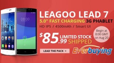 Leagoo taglia il prezzo al Leagoo Lead 7