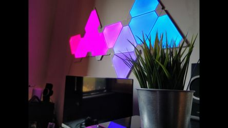 Nanoleaf Light Panels Aurora In Action
