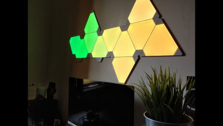 Nanoleaf Light Panels Aurora In Action 2