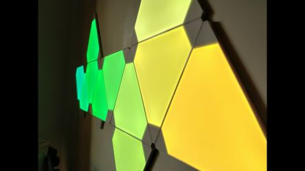 Nanoleaf Light Panels Aurora In Action 3