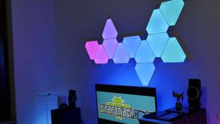 Nanoleaf Light Panels Aurora In Action 5