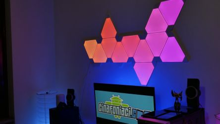 Nanoleaf Light Panels Aurora In Action 6