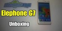 Elephone g7 Precious : Anteprima e video di unboxing!