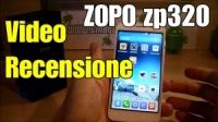Zopo zp320 con supporto alle reti 4G LTE : la video recensione completa
