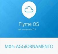 MX4, nuovo aggiornamento della Flyme alla versione 4.0.4 stabile
