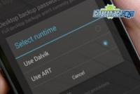 Tutorial: abilitare la nuova runtime Art negli smartphone con Android 4.4