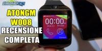Atongm W008 - La recensione completa dello smartwatch da 50€!