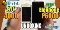 Doppio Unboxing Elephone P6000 e THL 4000
