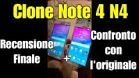 Unboxing e prime impressioni dell'N4, clone samsung note 4!