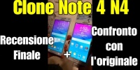 N4 clone samsung note 4 la videorecensione completa