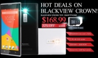 Blackview Crown in offerta su Banggood con il 32% di sconto ed una micro sd 16gb in regalo!