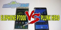 Elephone P7000 vs Plunk Hero il video confronto!