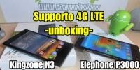 Kingzone N3 e Elephone P3000 - Smartphone 4G a confronto